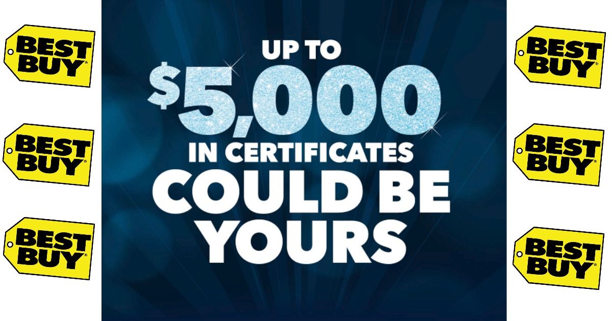 Best Buy: FREE Mystery Rewards Certificate! - Tinkering with Coupons